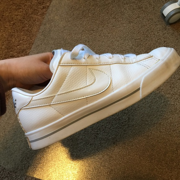 ShoesAll Nike Poshmark Leather White Sneakers PwOk0n